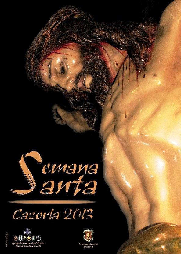 Cartel Semana Santa Cazorla 2013