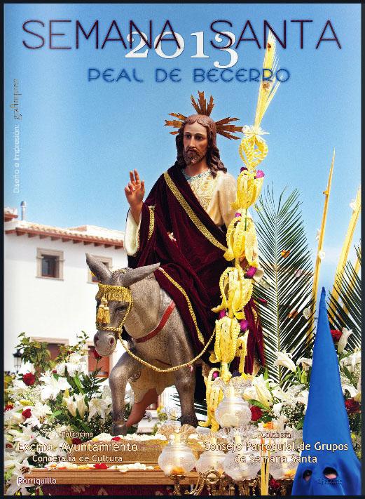 Cartel Semana Santa Peal de Becerro 2013