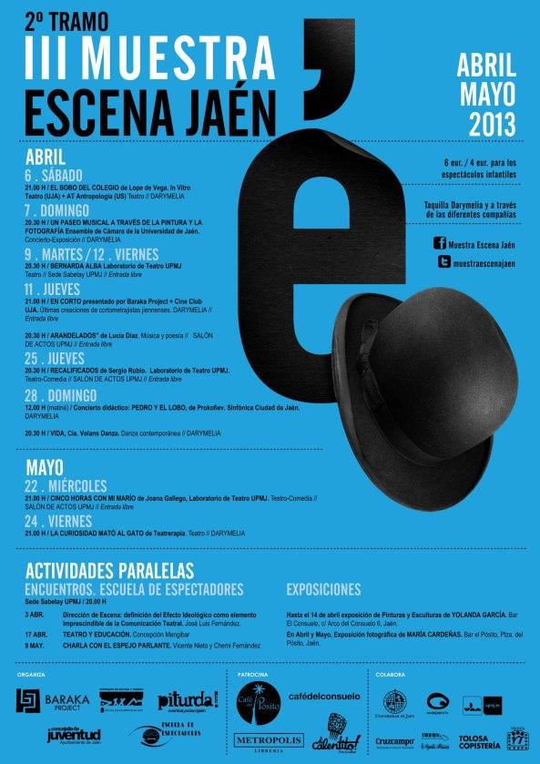 III Muestra Escena Jaén Cartel