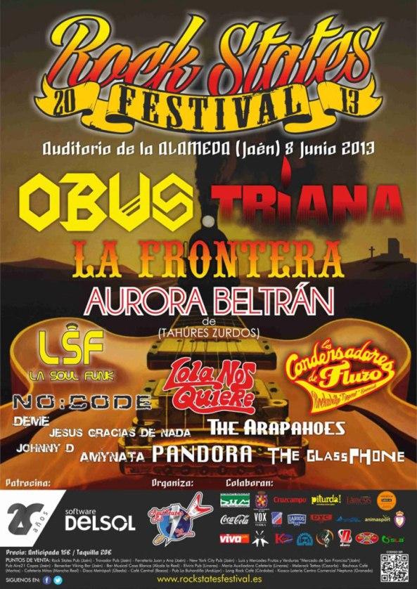 Rock States 20 Festival Jaén