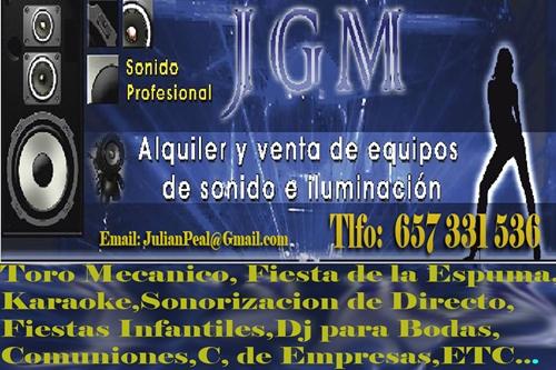 sonido jgm