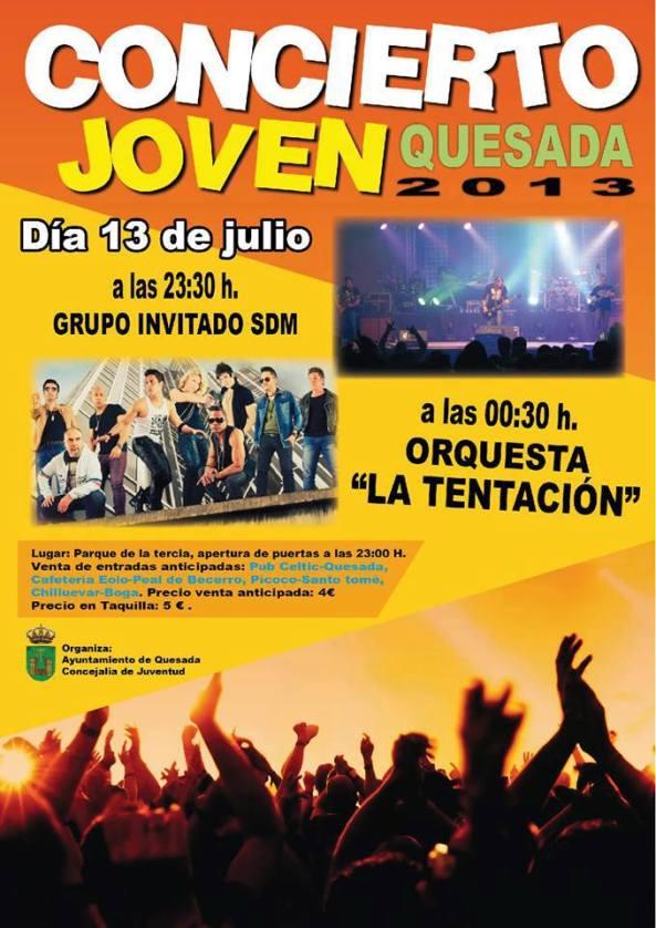 Concierto Joven - Quesada 2013