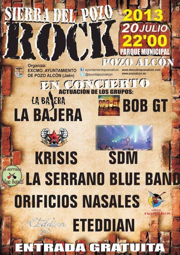 rock en pozo alcón